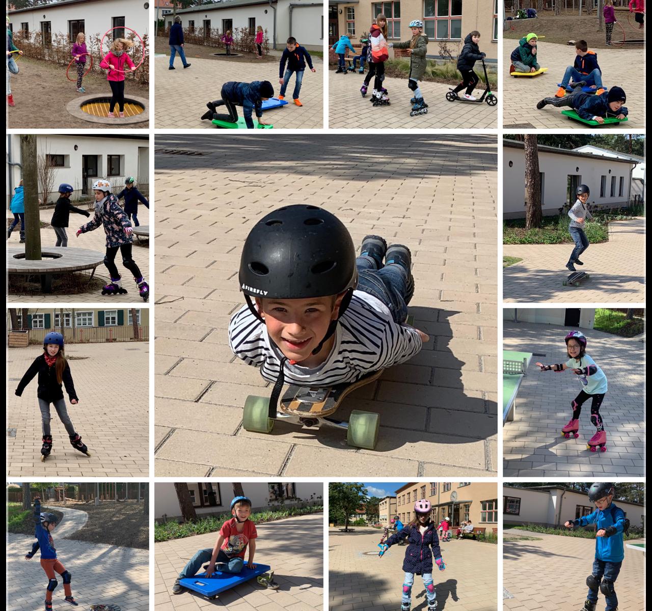Sportunterricht mal anders - im Wechselunterricht